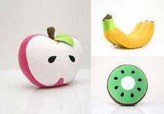 Handmade Fruit Pillows