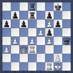Chess & Strategy daily chess puzzle. White to play and win. Peter Svidler 1-0 Alexander Galkin, Moscou 2011 - Solution on www.echecs-et-strategie.fr