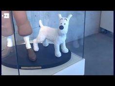 La irresistible atracción de Tintín, en el museo de su creador - YouTube