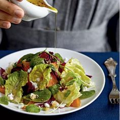 Winter Salad with Roasted Beets and Citrus Reduction Dressing | CookingLight.com