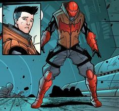 Jason Todd aka Red Hood .  This design is actually pretty cool.