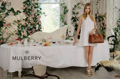 www.pegasebuzz.com | Cara Delevingne by Tim Walker for Mulberry SS 2014 Finally something to distract us from CD's eyebrows