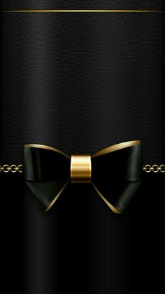 samsung wallpaper gold Black and gold iPhone / Android … - Handy Hintergrund Bow Wallpaper, Apple Wallpaper, Cellphone Wallpaper, Colorful Wallpaper, Black Wallpaper, Screen Wallpaper, Mobile Wallpaper, Wallpaper Backgrounds, Iphone Wallpaper