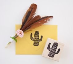 Hey, I found this really awesome Etsy listing at https://www.etsy.com/listing/166379561/cactus-return-address-stamp