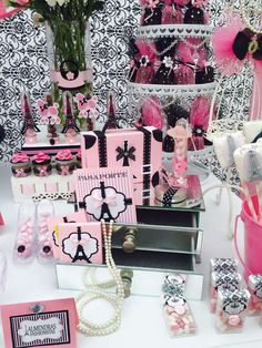 Glamour in Paris Birthday Party Ideas | Photo 2 of 9 | Catch My Party