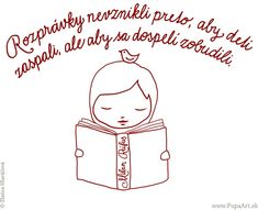 rozprávky Kids And Parenting, Alphabet, Education, Children, Books, Fictional Characters, Young Children, Boys, Libros