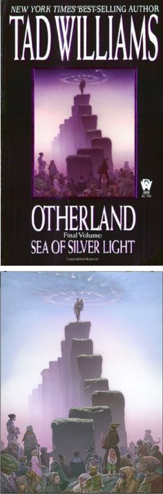 MICHAEL WHELAN - Otherland Vol 4 Sea of Silver Light by Tad Williams - 2001 DAW Books - cover by Amazon - print by michaelwhelan.com