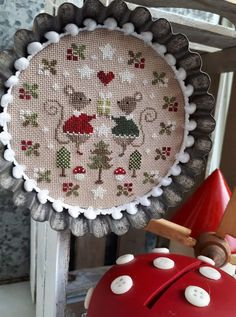 Christmas Crafts, Christmas Tree, Cross Stitch Finishing, Le Point, Embroidery Ideas, Stitching, Creations, Patterns, Holiday Decor