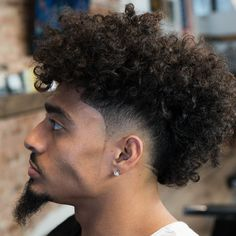 Types Of Fade Haircuts 2020 Update Curly Mohawk Hairstyles 39 Best Curly Hairstyles Haircuts For Men 2020 Guide Pin On Hairstyle 16 Best Curly Hair Fade Haircut Curly Mohawk Hairstyles, Short Curly Haircuts, Hairstyles Haircuts, Cool Hairstyles, Black Hairstyles, Hairstyle Ideas, Short Mohawk, Braided Mohawk, Hairstyle Short