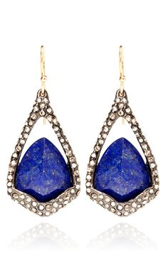 Hyperion Drop And Lapis Earring by Alexis Bittar for Preorder on Moda Operandi