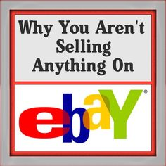 Why You Aren't Selling Anything On Ebay! Plus Questions Needed For Q&A!