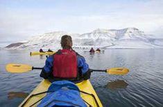 Kanu- und Kajakfahren | Beliebte Orte zum Paddeln in Norwegen Paintball, Fjord, Kayaking, Fish, Winter Activities, Ice, Norway, Profile, Adventure