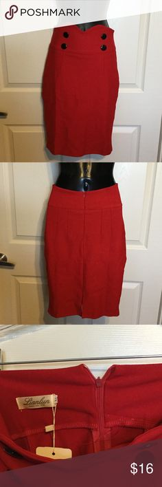 Liam lun  Skirts Cute Skirt very stretchy. This skirt says it's a extra large but really it could very well be a small. Polyester Skirts Midi