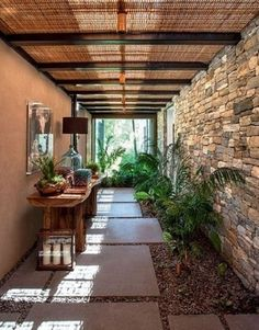 Exterior patios balconies 64 Ideas for 2019 Patio Interior, Interior And Exterior, Wall Exterior, Outdoor Rooms, Outdoor Living, Indoor Outdoor, Outdoor Areas, Verge, Design Exterior
