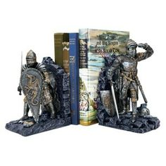 Arthurian Knights Bookends
