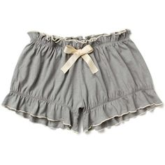 Nimbostratus Bloomers - Anthropologie.com (€37) ❤ liked on Polyvore featuring intimates, panties, shorts, lingerie, underwear, bottoms, underwear lingerie and anthropologie