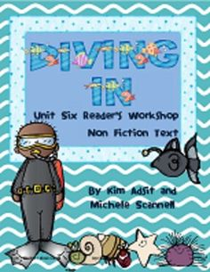 Readers Workshop Unit 6 - Diving In! by Kim Adsit and Mich 10.00