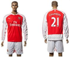 http://www.xjersey.com/201516-arsenal-21-chambers-home-long-sleeve-jersey.html 2015-16 ARSENAL 21 CHAMBERS HOME LONG SLEEVE JERSEY Only 33.11€ , Free Shipping!
