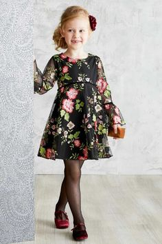 Vintage Florals Are In Girl Fashion Stylish Kids Kids