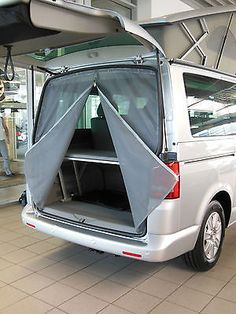 Awesome camper van conversions that'll inspire you to hit the road Volkswagen, Vw T5, Motorhome Parts, Airstream Campers, Vw Camper, Minivan Camping, Diy Camping, Camping Ideas, Camping Store
