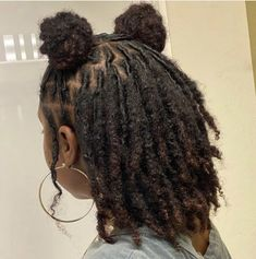 Short Locs Hairstyles, Girls Natural Hairstyles, Twist Braid Hairstyles, Baddie Hairstyles, Girl Hairstyles, Dreadlock Styles, Dreads Styles, Curly Hair Styles, Natural Hair Tips