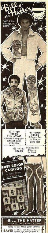 70's Signature Bill The Hatter - Ebony Magazine