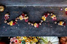 Poppytalk: Fall Floral Garland