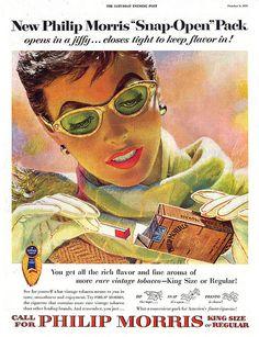 1954--Philip Morris shades by Edwin Georgi