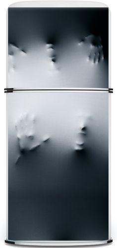 Stickers, Refrigerators and Surf wave on Pinterest ~ 185336_Halloween Refrigerator Door Cover