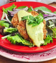 Shrimp Cakes with Lime Cilantro Aioli - makes a terrific appetizer course, a great lunch or the start of a delicious Eggs Benedict.