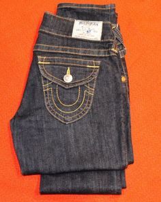 abcd99135 True Religion Section Skinny RN  112790 CA  30427 Womens Jeans size 28 True  Religion