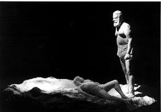 George Segal, Avraham offering his son Isaac, 1973