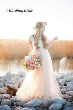 pastel pink bridesmaid dresses - Google Search