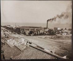 Plaza de Toros, Hospital Noble y Malagueta desde La Alcazaba. Vicente Tolosa