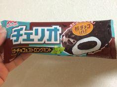 CHERIO chocolate mint ice cream bar