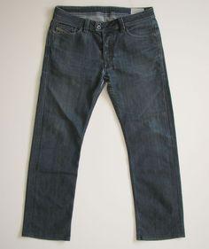 DIESEL MENS 31 27 VIKER R BOX 008W3 8W3 STRAIGHT LEG JEANS  #Diesel #ClassicStraightLeg