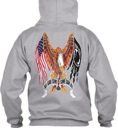 All Gave Some Some Gave All Sport Grey Sweatshirt Back