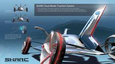 LA Design Challenge (2012): Subaru Highway Automated Response Concept (SHARC)