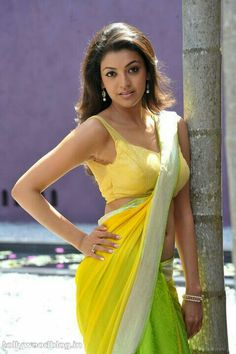 Kajal Agarwal Hot Spicy Exposing Yellow Saree Photos from Businessman Telugu Movie. Kajal Agarwal Navel show in Saree photoshoot Punjabi Actress, Bollywood Actress, Bollywood Celebrities, Hot Actresses, Indian Actresses, Kajal Agarwal Saree, Saree Photoshoot, Yellow Saree, Saree Navel