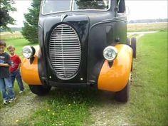 ▶ Maiden Voyage of 1940 Ford COE 4BT Cummins