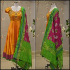 Indian Gowns Dresses, Indian Wedding Gowns, Indian Outfits, Salwar Designs, Blouse Designs, Anarkali Dress, Anarkali Suits, Punjabi Suits, Lehenga
