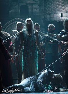 La Reine Guenièvre (Camille Lou) et Lancelot du Lac (Charlie Boisseau) - La Légende Du Roi Arthur