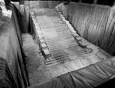 Wrapped Stairway, Floor and Walls, Philadelphia Museum of Art, Pennsylvania, 1970