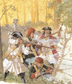 Poltava 1709, Russian musketeers
