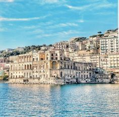 Napoli, Palazzo Donn'Anna a Posillipo, Italy  ✈✈✈ Don't miss your chance to win a Free Roundtrip Ticket to Naples, Italy from anywhere in the world **GIVEAWAY** ✈✈✈ https://thedecisionmoment.com/free-roundtrip-tickets-to-europe-italy-naples/