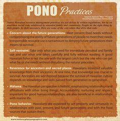 Live pono