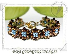 This tutorial will teach you how to make Rizzina bracelet. You will receive PDF file with step by step drawings. Language : This pattern is made with easy to follow photos or/and drawing instructions and contains only minimal text in English and Hungarian. This pattern is only for personal use. You will immediately download PDF file after you have paid. Material you need:4mm faceted,rizo bead,superduo,4mm bicone,11/0 seed bead,15/0 seed bead,3mm faceted  Happy beading!! My patt...