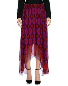 DIANE VON FURSTENBERG Women's 3/4 length skirt Mauve S INT