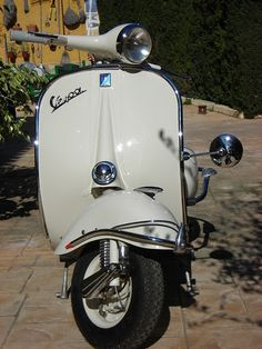 RETRO SCOOTER GARAGE: RSG #1# Vespa 125N 1958