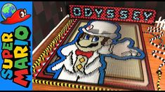 Super Mario fans will be blown away by this of Super Mario Odyssey celebrated with 148,777 dominoes. It is an epic falling domino video for an epic game!